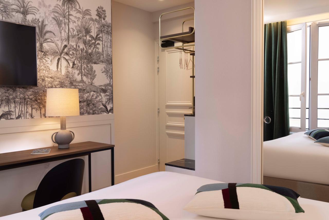 Bed Room Hotel La Canopee