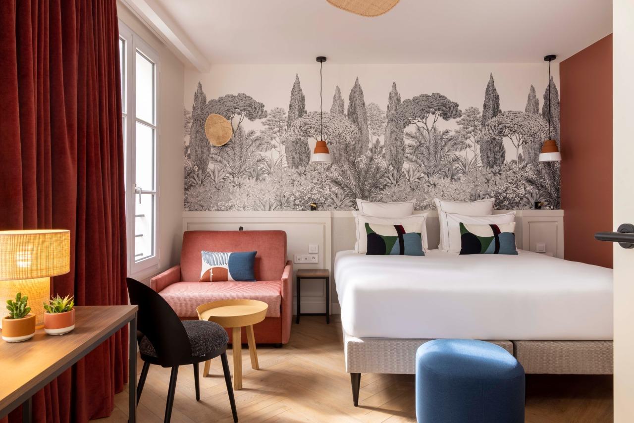 Bed Room - Window - Hotel La Canopee