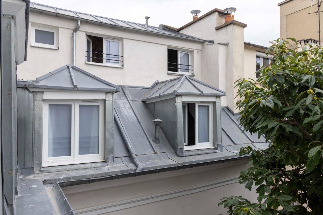 Outside Window View - Hotel la Caponee