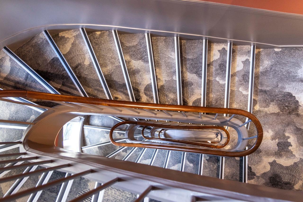 Stairs - Hotel la Canopee